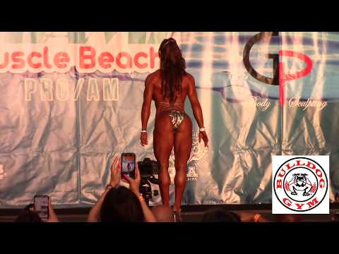 IFBB Pro Fitness All Competitors 2018 Miami Muscle Beach Prejudging