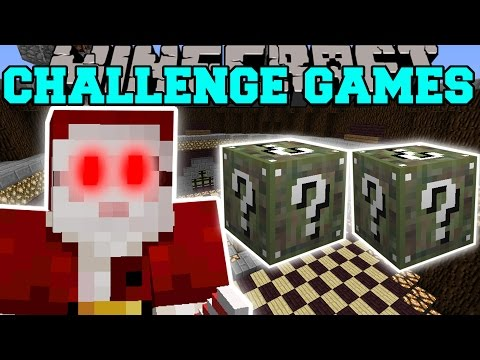 Minecraft: SANTA CLAWS CHALLENGE GAMES - Lucky Block Mod - M