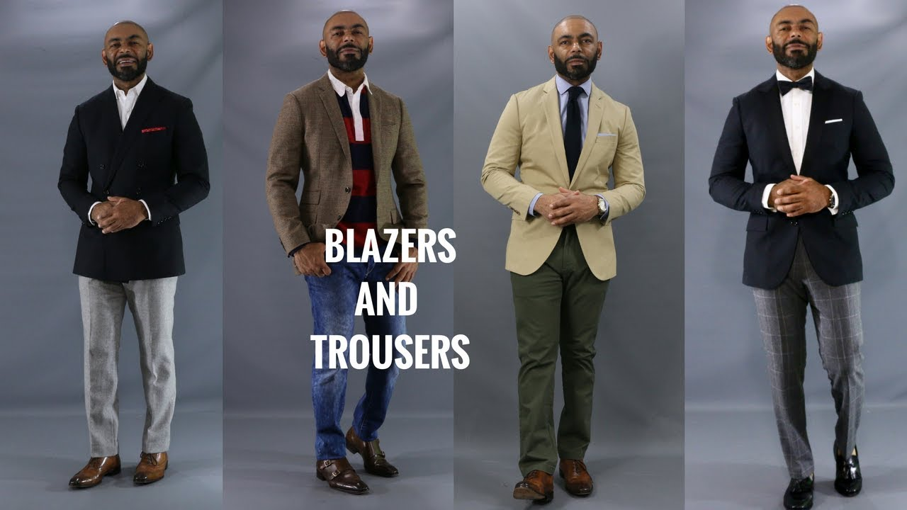 10 Best Blazer And Trouser Combinations How To Match Blazers And