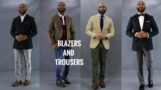 10 Best Blazer And Trouser Combinations/How To Match Blazers And Trousers