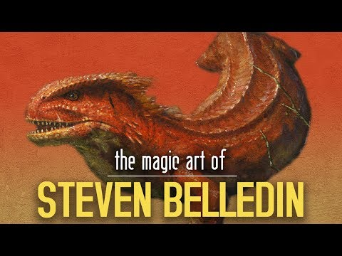 The Magic Art of Steven Belledin