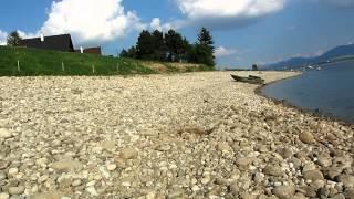 Liptovsky trnovec swimming lake @mara camping