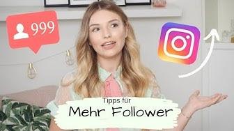Mehr Follower auf Instagram bekommen