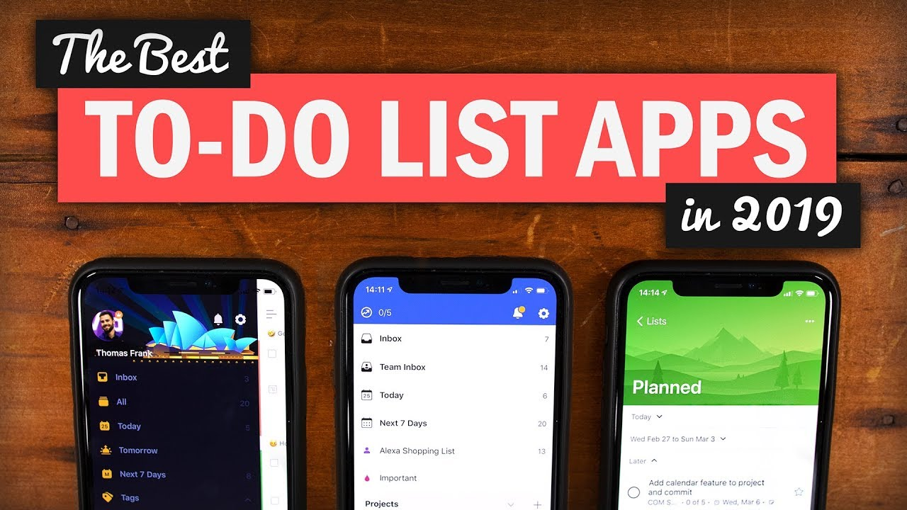 The 3 Best Task Management Apps in 2019