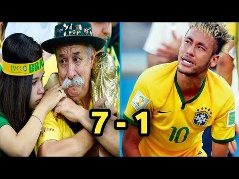 10 هزائم لن تنسى في تاريخ كأس العالم..!! صدمت العالم