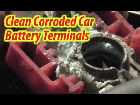 How To Clean Car Battery Terminals w/ Coca-Cola