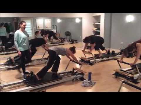 Pilates Group Reformer