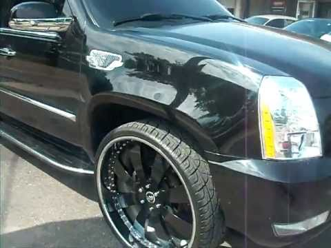 Cadillac Escalade Esv On 28 Inch Forgiatoes Youtube