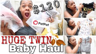 ONLY $120 - HUGE BABY CLOTHES HAUL FT. PATPAT