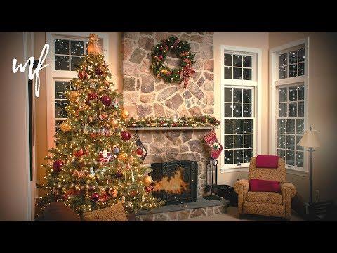 Christmas Living Room ASMR Ambience