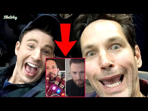 Chris Evans And Paul Rudd Hilarious Virtual Interview Breakdown | Shares Funny Marvel Incidents|2020