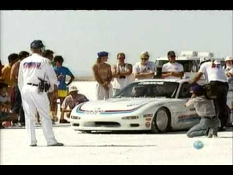 Mazda RX-7 Crash at 225 MPH!!