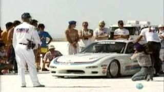 Mazda RX-7 Crash at 225 MPH!!