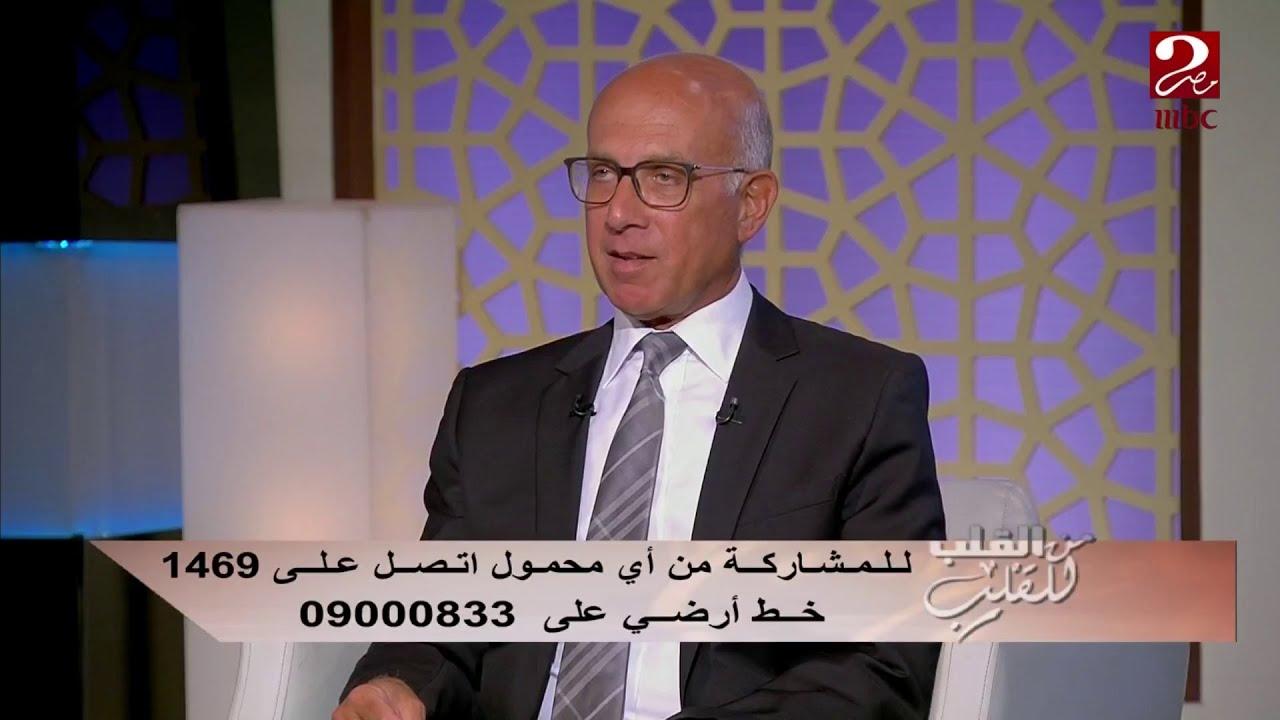 للدكتور محمد أبو الغيط طريقته الخاصة لعدم زيادة وزنه في الأعياد...تعرف عليها