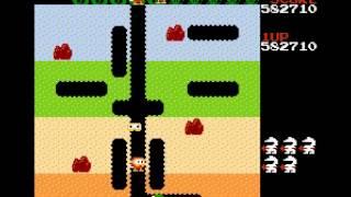 Dig Dug (NES) 1,240,550 points