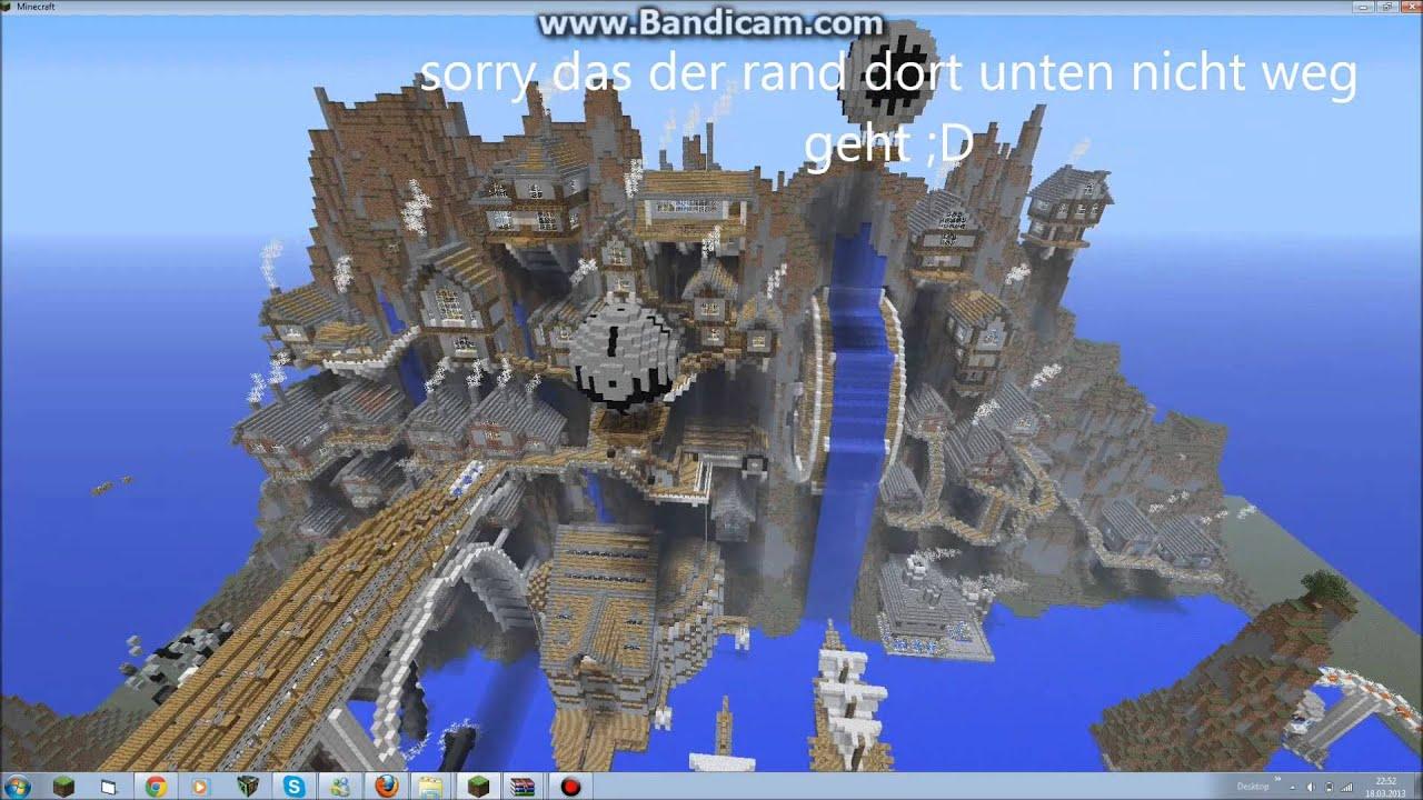 Minecraft Animation Wallpaper Minecraft Steampunk City Download Youtube