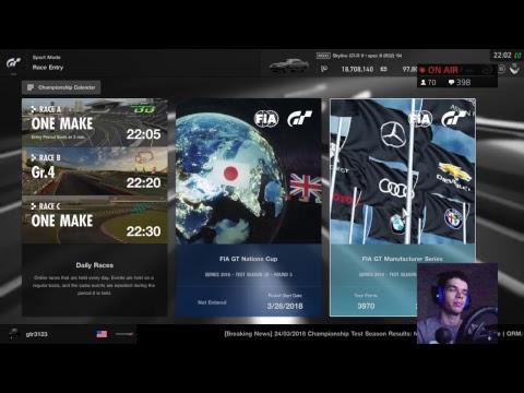 Gran Turismo Sport - FIA Test Season 20 Round 2 Manufacturers Series