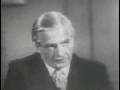UK General Election 1955 Campaign - Sir Anthony Eden takes questions from the press