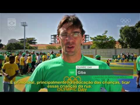Celebração do Dia Olímpico pelo Comitê Olímpico do Brasil