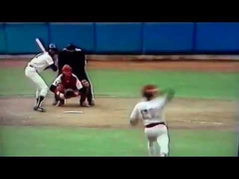 Mickey Rivers Legs Out Triple Vs Boston Red Sox