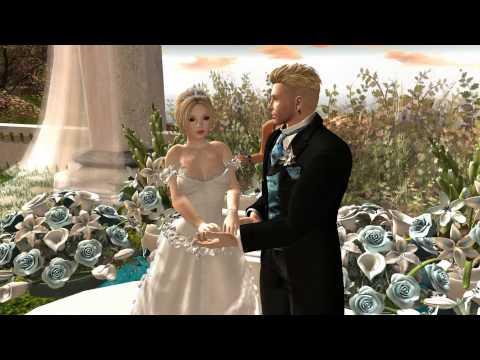 Second Life Wedding January 2nd 2015 Coal & Mamsen
