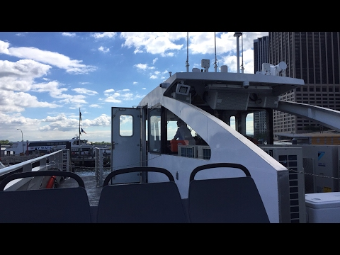 Let's take a ride on the all new NYC Ferry!