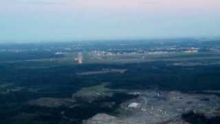 COCKPIT VIEW OF APPROACH AND LANDING AT HELSINKI-VANTAA AIRPORT RWY 15