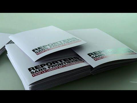 RSF présente son rapport annuel de la liberté de la presse