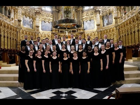 Westminster Choir at the Abbey of Montserrat