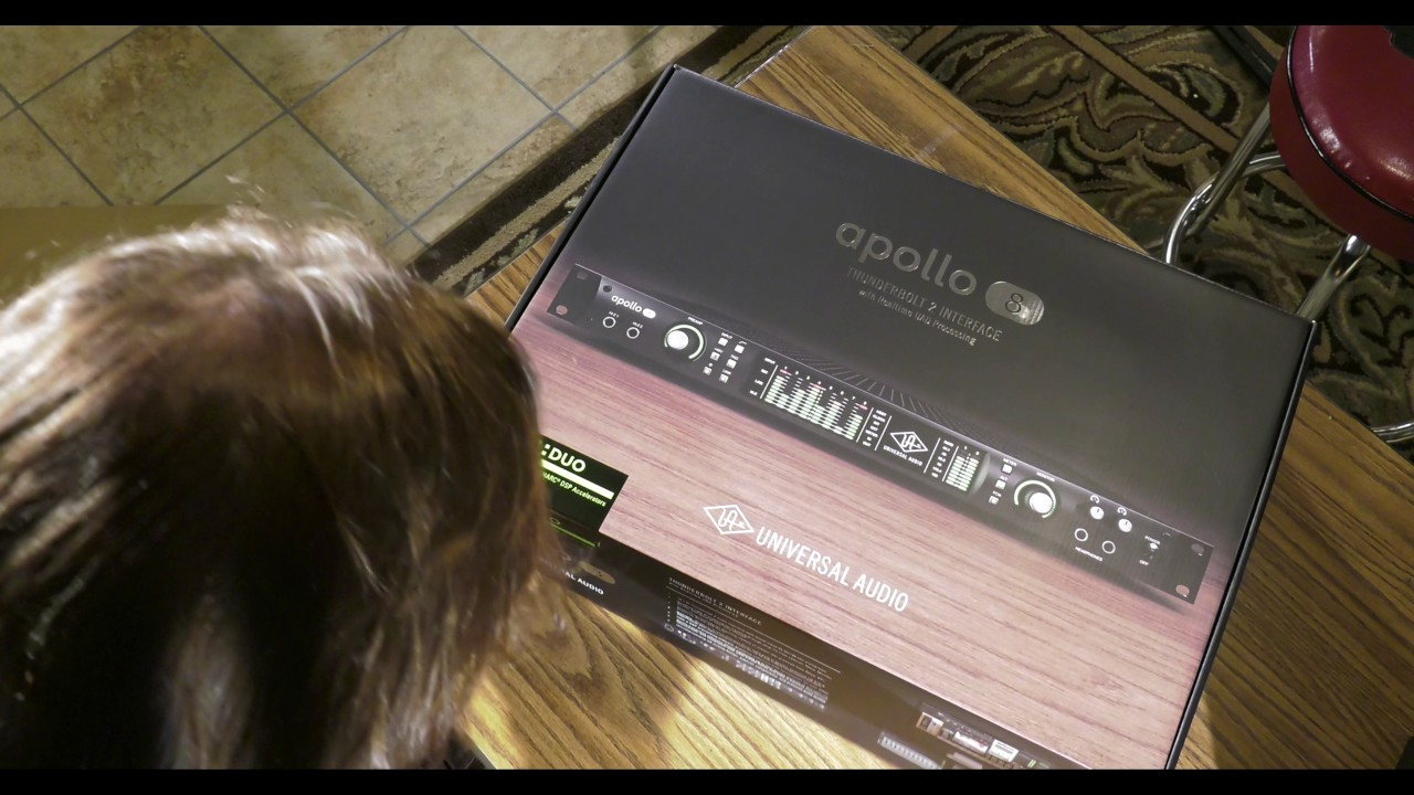 Universal Audio Apollo 8 Duo Unboxing Setup Getting Started