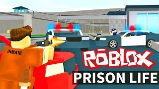 THE BEST ROBLOX PRISON ESCAPE!! - Brand New Roblox Prison Minigame!! | (Roblox Gameplay)