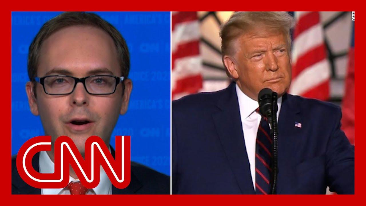 Fact checker on Trump's RNC speech: He is a serial liar
