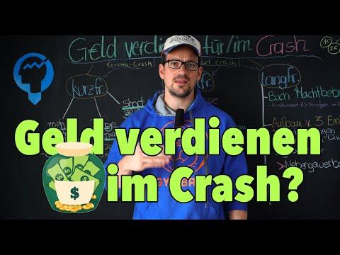 Geld verdienen im Crash - So bist du auf alles vorbereitet