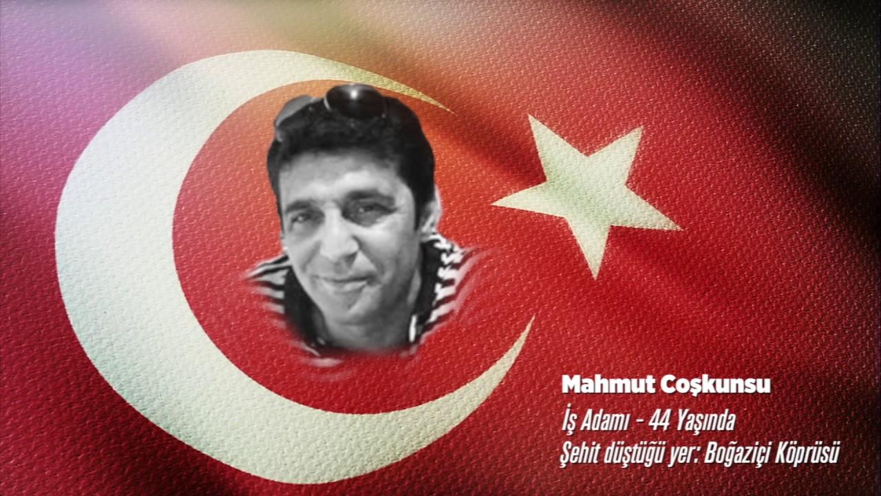15 Temmuz Şehidi Mahmut Coşkunsu