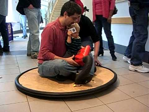 DIY Hovercraft for oneperson and a baby, operated by ...
