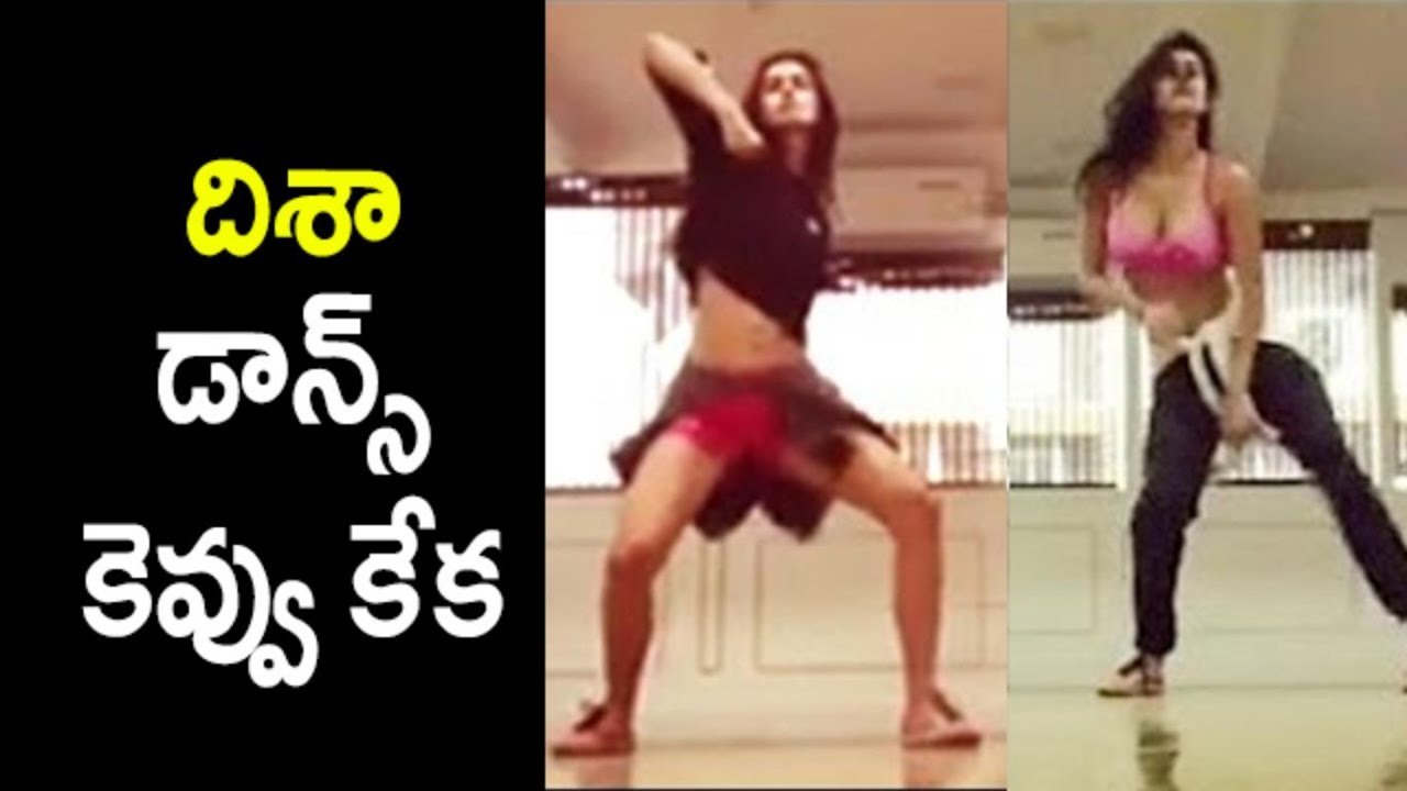 Unseen Disha Patani: Disha Patani Dance Practise With Master : Unseen Video