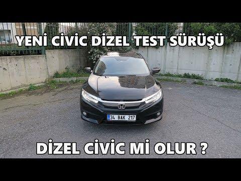 Honda Civic Sedan 1.6 Dizel (2018) | Test Sürüşü & İnceleme