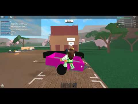 Lumber Tycoon 2 Roblox I Spawned A Hot Pink Trailer Short Youtube