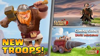 """New TROOP """"The Mercenary"""", New Hero, New Siege Machine & More 