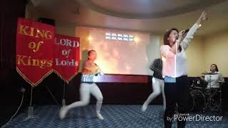 God is Here - Dance steps