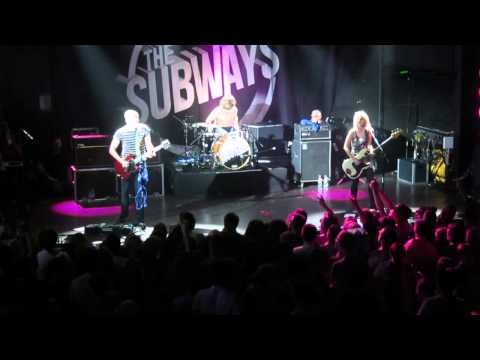 the Subways this is the club for people who hate people St.Petersburg Russia 14-11-2013 #subways mp3