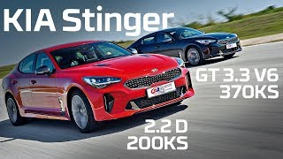 KIA Stinger - Test on track NAVAK by SAT TV Show
