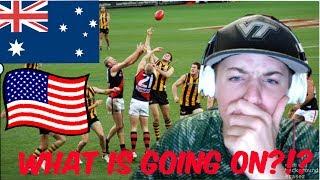 Video AMERICAN Football Player reacts to Australian Football download MP3, 3GP, MP4, WEBM, AVI, FLV Oktober 2017