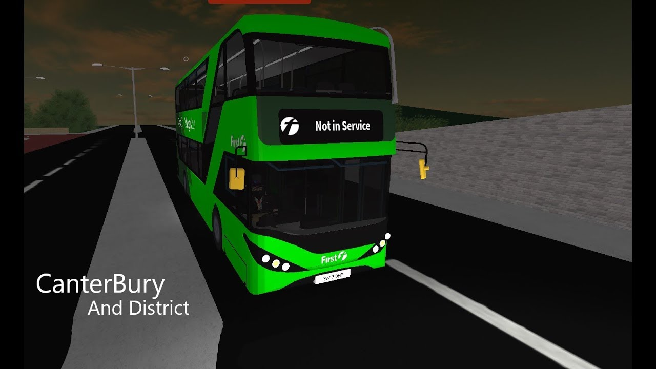 Roblox Canterbury District Bus Simulator V4 Beta First