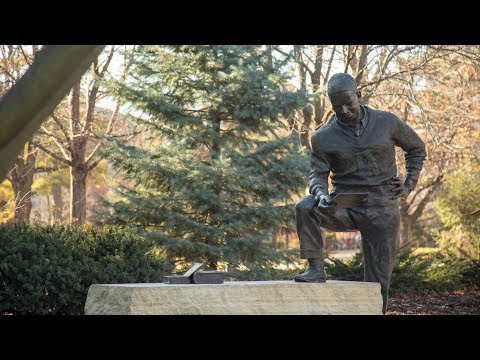 Jack Trice Statue Moves Back To Campus At Iowa State University