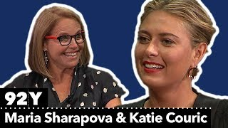Maria Sharapova in Conversation with Katie Couric