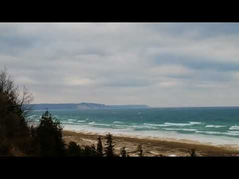 The View From M-22 presents:  Elberta Michigan Lookout Views