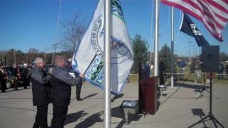 Veterans Day 2010 Flag Raising Ceremony at Ho-Chunk