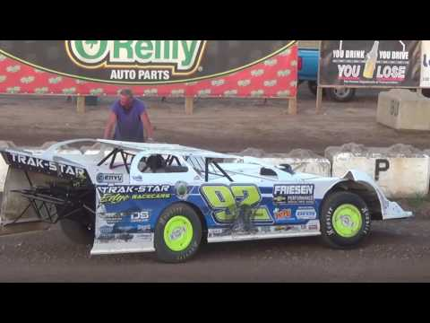 Salina Speedway Nesmith Late Models *Make up A Feature* 6-16-17