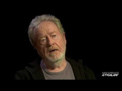 AvP Galaxy Interviews Sir Ridley Scott & Michael Fassbender (Alien: Covenant)